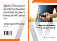 Bookcover of Mobile Diary Studies