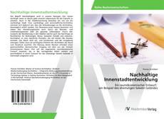 Bookcover of Nachhaltige Innenstadtentwicklung