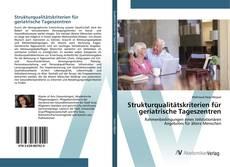 Strukturqualitätskriterien für geriatrische Tageszentren的封面