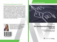 Die Randomized Response Technik kitap kapağı