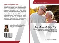 Buchcover von Orale Gesundheit im Alter