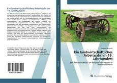 Portada del libro de Ein landwirtschaftliches Arbeitsjahr im 19. Jahrhundert
