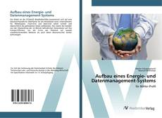 Bookcover of Aufbau eines Energie- und Datenmanagement-Systems