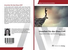 Buchcover von Ursachen für das Glass Cliff