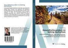 Portada del libro de Gesundheitswandern im Setting Hochschule