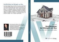 Bookcover of Konfliktfelder bei Mängeln am Bau