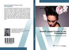 Bookcover of Gewalt gegen Frauen in der Privatsphäre