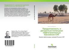 Buchcover von Продуктивность и ресурсный потенциал нефтегазоносных бассейнов СНГ