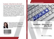 Capa do livro de Facebook - Ohne Dich ist alles doof!