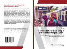 Bookcover of Heimkinder auf dem Weg in ein selbstständiges Leben -