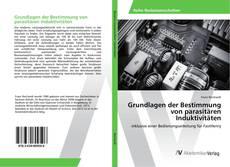 Buchcover von Grundlagen der Bestimmung von parasitären Induktivitäten