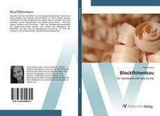 Portada del libro de Blockflötenbau