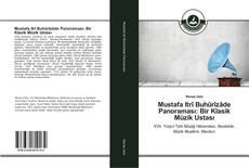 Portada del libro de Mustafa Itrî Buhûrîzâde Panoraması: Bir Klasik Müzik Ustası
