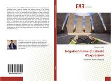 Buchcover von Négationnisme et Liberté d'expression