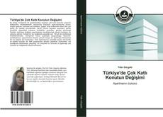 Türkiye'de Çok Katlı Konutun Değişimi kitap kapağı
