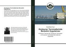 Portada del libro de Konteyner Terminallerinde Benzetim Uygulaması