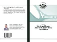 Metrik ve Menger Uzaylarda Sabit Nokta Teoremleri kitap kapağı