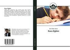Kara Eğitim kitap kapağı