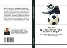 Spor Yönetiminde Halkla İlişkiler ve İletişim kitap kapağı