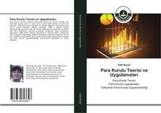 Portada del libro de Para Kurulu Teorisi ve Uygulamaları