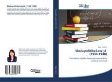 Skolu politika Latvijā (1934-1940) kitap kapağı