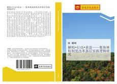 Capa do livro de 解构•行动•获益——集体林权制度改革基层实践逻辑研究