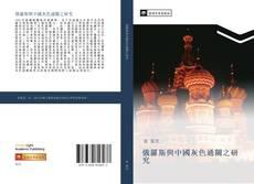 Bookcover of 俄羅斯與中國灰色通關之研究