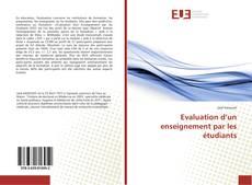 Bookcover of Evaluation d'un enseignement par les étudiants