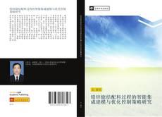 Capa do livro de 铅锌烧结配料过程的智能集成建模与优化控制策略研究
