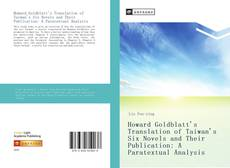 Bookcover of Howard Goldblatt's Translation of Taiwan's Six Novels and Their Publication: A Paratextual Analysis