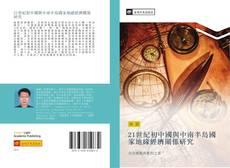 Обложка 21世紀初中國與中南半島國家地緣經濟關係研究
