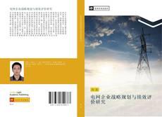 Capa do livro de 电网企业战略规划与绩效评价研究