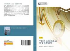 Bookcover of 中国国际资本流动 突变预警研究