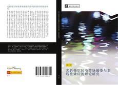 Bookcover of 光折变空间电荷场演变与非线性效应的理论研究
