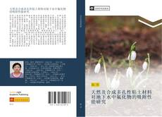 Bookcover of 天然及合成多孔性粘土材料对地下水中氟化物的吸附性能研究