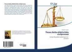 Обложка Tiesas darba efektivitāte civilprocesā