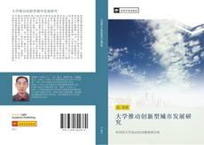 大学推动创新型城市发展研究的封面