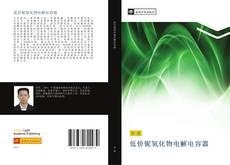 低价铌氧化物电解电容器的封面