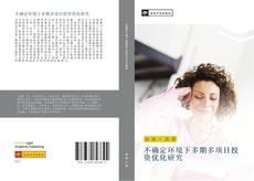 Bookcover of 不确定环境下多期多项目投资优化研究
