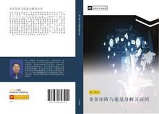 Bookcover of 非负矩阵与张量分解及应用
