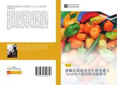 Bookcover of 辣椒高效离体再生体系建立与CaCOI1基因的功能研究