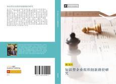 Capa do livro de 知识型企业组织创新路径研究