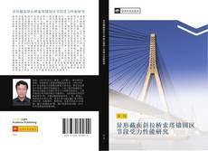 Portada del libro de 异形截面斜拉桥索塔锚固区节段受力性能研究