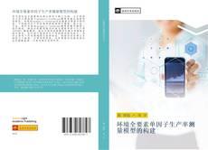 Bookcover of 环境全要素单因子生产率测量模型的构建