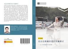 Обложка 北京总体城市设计实施探讨
