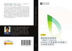 锡阳极泥制取纯(NH4)2SnCl6、 Sb4O5Cl2及纳米ATO的新工艺和理论研究的封面