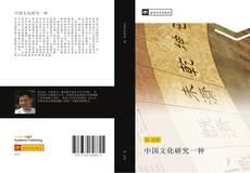 Bookcover of 中国文化研究一种