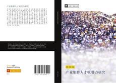 Bookcover of 产业集群人才吸引力研究