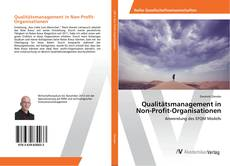 Qualitätsmanagement in Non-Profit-Organisationen的封面