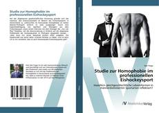 Bookcover of Studie zur Homophobie im professionellen Eishockeysport